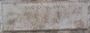 Shugborough_inscription_D_OUOSVAVV_M