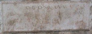 Shugborough_inscription_D_OUOSVAVV_M