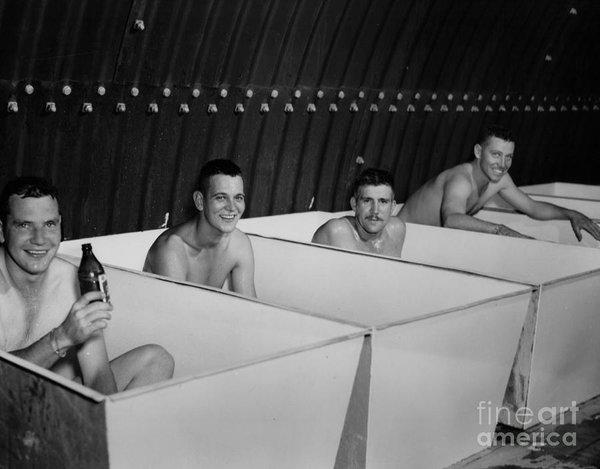 world-war-ii-bath-time-for-guys-r-muirhead-art